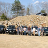 The Gang.  (L to R) Mark, Dan, Kristy, Matt, Erik, Pat, Ralph.  Four Toyota 4Runners, One Nissan Xterra and One Jeep TJ.
