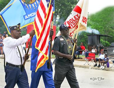 Parade in Boley