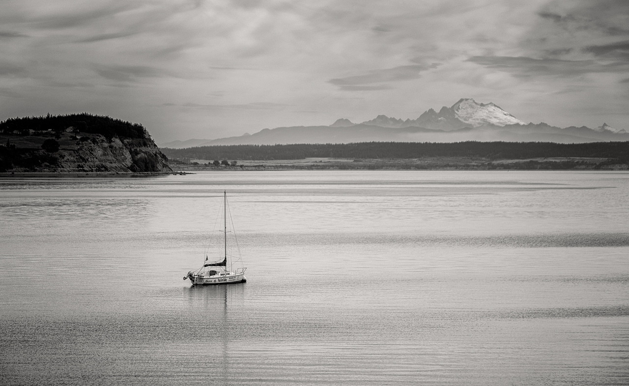 HARBOR VIEW FROM COUPEVILLE-WHIDBEY ISLAND