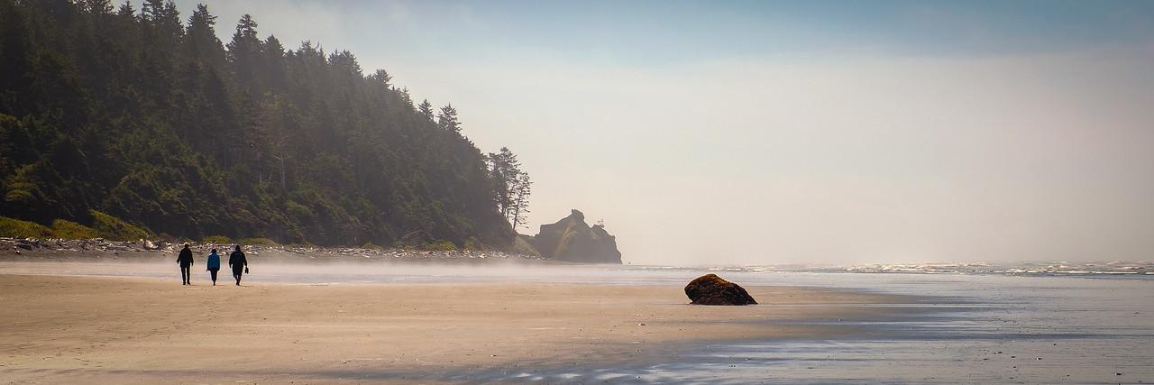 """MORNING """"STROLL"""" ON RUBY BEACH"""