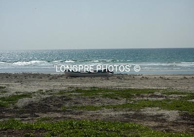 Beach along Omanian coast.