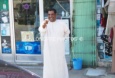 Friendly shop keeper- Salalah.
