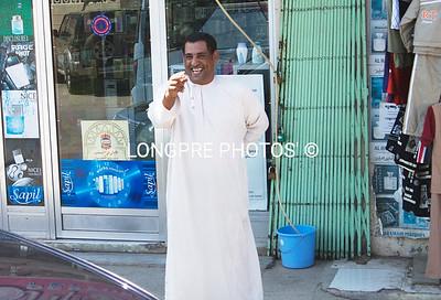 Friendly shop keeper- Salalah.
