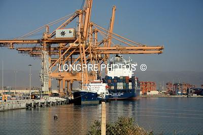 Port of SALALAH, Oman is big freight port.