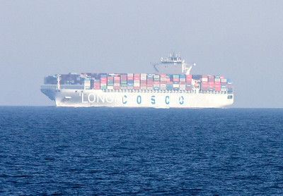 Freighter in RED SEA.