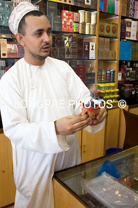 Shop keeper, Perfume- Salalah.