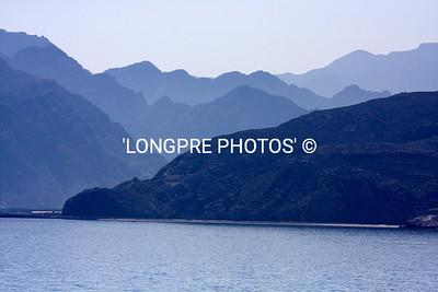 Fjord region at KHASAB, OMAN