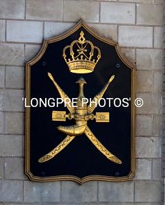 Coat of arms....palace in SALALAH.