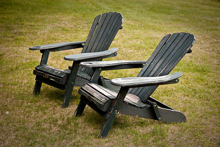 ADIRONDACK CHAIRS AT KILLARNEY LODGE
