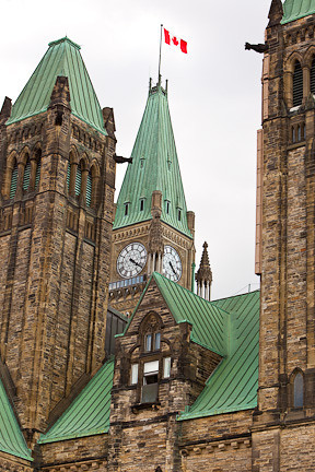 CENTRE BLOCK - PARLIAMENT