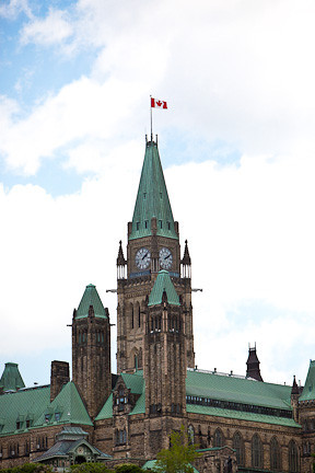 CENTRE BLOCK - PARLIAMENT HILL