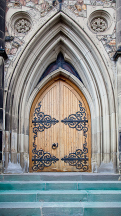 CENTRE BLOCK LIBRARY DOOR