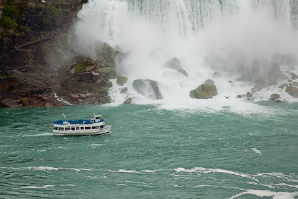 """MAID IN THE MIST"" AND AMERICAN FALLS"