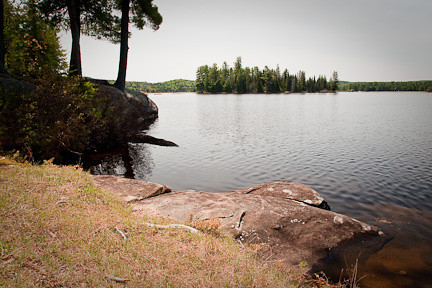 LAKE OF TWO RIVERS - ALGONQUIN PARK