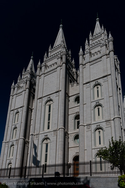 Temple Square, SLC. Utah.