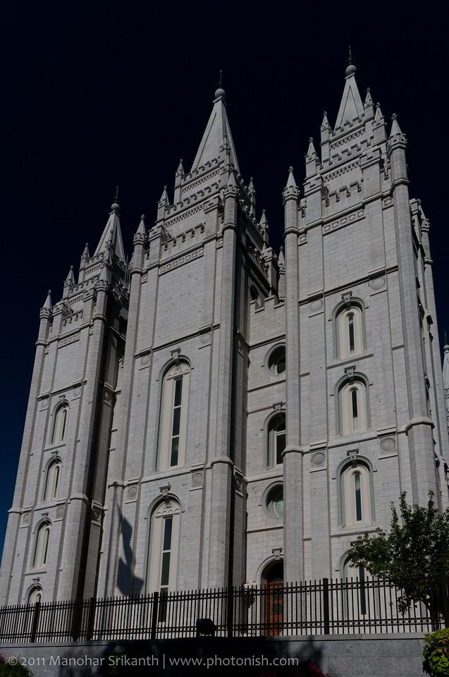 Temple Square, SLC. Utah.