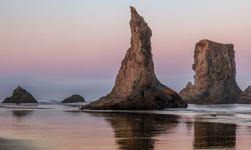 "THE ""WIZARD'S HAT"" ON BANDON BEACH"