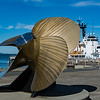 BEAUTIFUL SHIP PROPELLER -- MARITIME MUSEUM