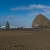 HAYSTACK ROCK -- TIDE IS OUT