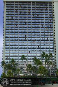 The Rainbow Tower - Hilton Hawaiian Village, Waikiki.