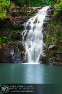 Waimea Falls - Waimea Valley Botanical Gardens - North Shore, Oahu