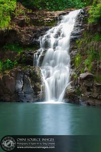 Waimea Falls - Waimea Valley Botanical Gardens - North Shore, Oahu