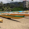 Hawaiian rowing and sailing canoes
