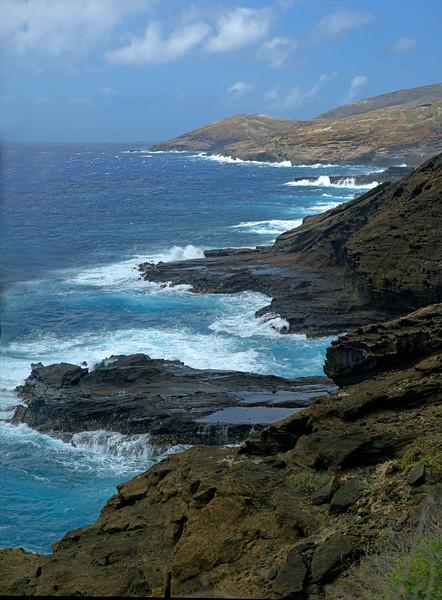 Between Koko Head and Makapuu Head, east Oahu, Hawaii