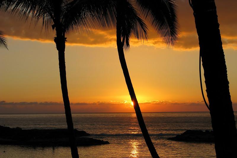 Ko\' Olina Beach Club Sunset