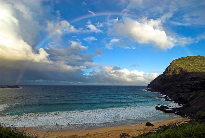Rainbow - Winward Side - Blowhole Area