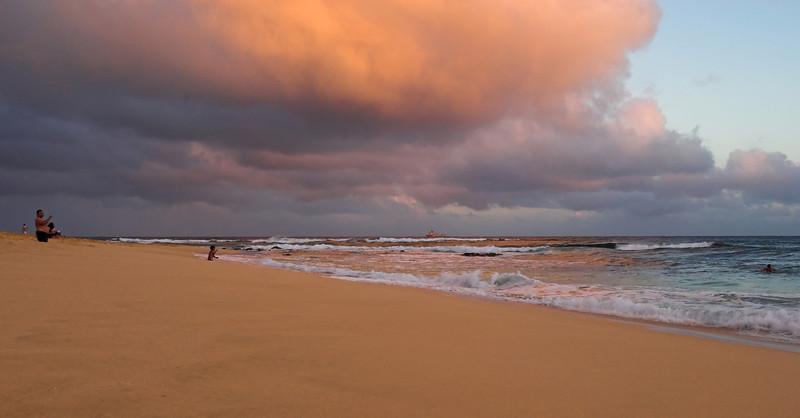 Winward Side - Sandy Beach - Sunset