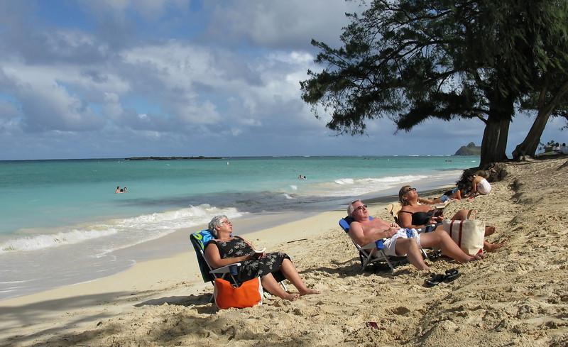 Beth, Wally & Jo - Kailua