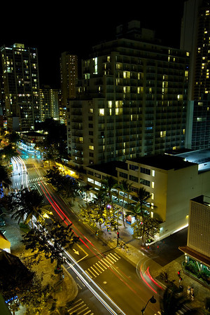 Night at Honolulu
