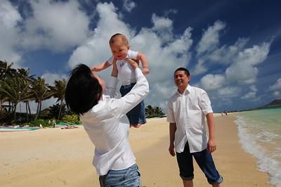 Ling Family, Lanikai  2012.05.08