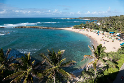 2016-06-09 View from room 605 Turtle Bay Resort on Oahu north shore