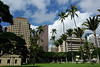Downtown Honolulu.