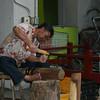 Woodcarver in International Market
