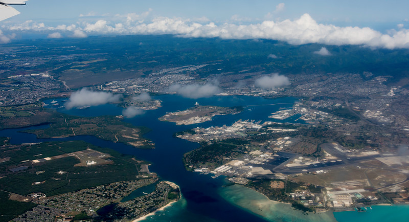Harbor entrance to Pearl Harbor