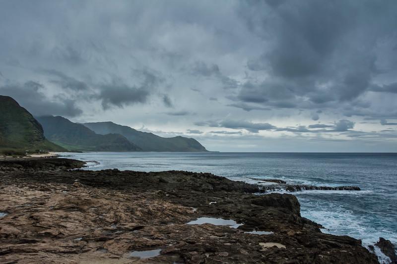 Cloudy Skys, Calm Sea