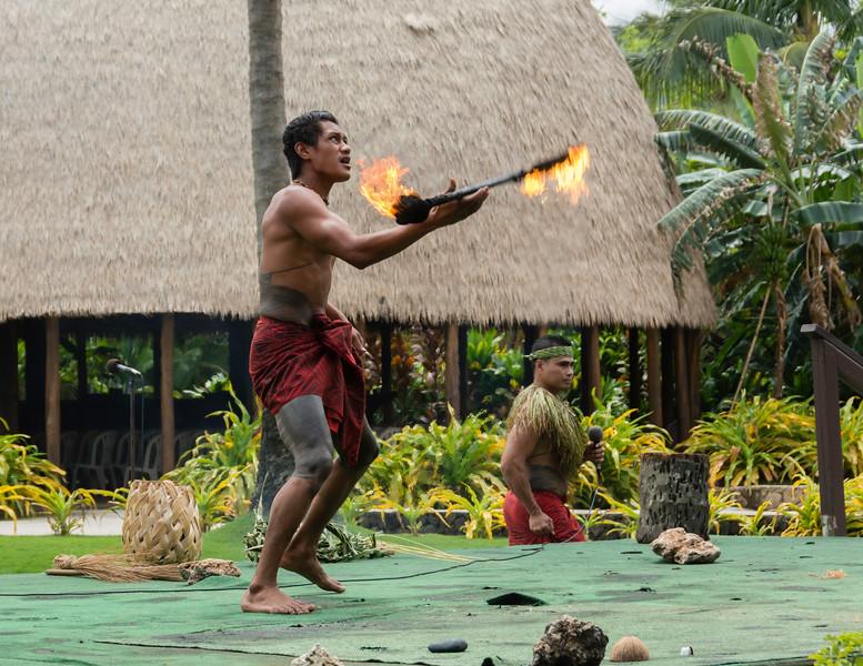 Samoan Siva Afi, or Fire Knife Dance