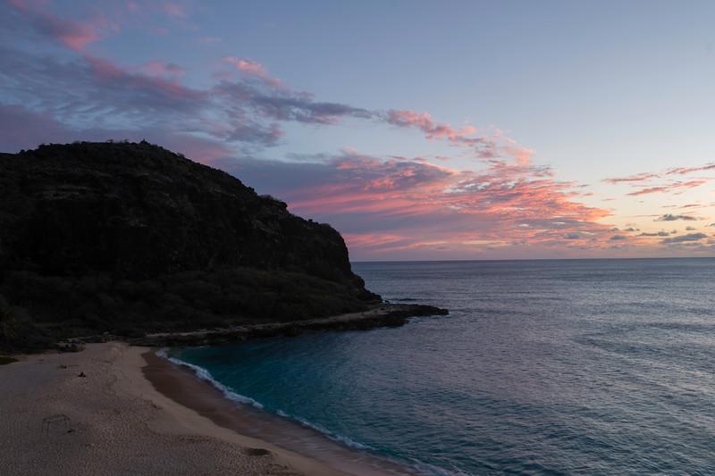 Sunset at Lahilahi Point