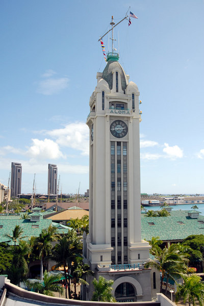 Aloha Tower, Honolulu, HI
