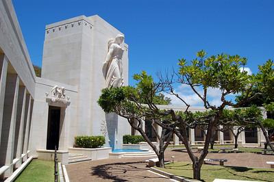 Memorial Statue Profile