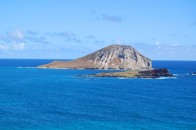Lion Head with Rabbit Island in Foreground