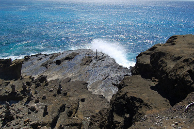 Blowhole did not Work today