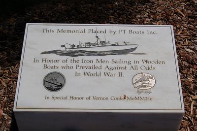 PT Boat Memorial Stone