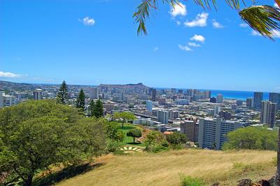 Waikiki from Mt. Tantalus