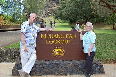Mike & Jenny at the Pali