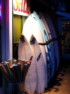 Surf shop Hale'iwa, North Shore, O'ahu