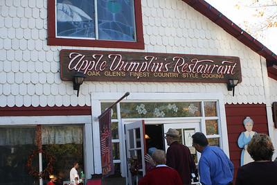 10/30/05 Apple Dumplin's Restaurant, Oak Glen, San Bernardino County, CA